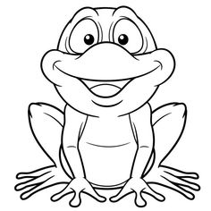 Kurbağa boyama sayfası, frog coloring pages free printable Frog Coloring Pages, Disney Coloring Pages, Animal Coloring Pages, Coloring Sheets, Coloring Books, Frog Outline, Animal Hand Puppets, Preschool Art Projects, Frog Crafts