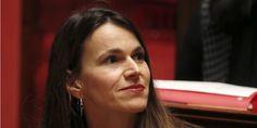 """Août 2014. Aurélie Filippetti, ministrette de la Culture, soutient la démarche des salariés de """" Nice Matin """" pour sauver le journal"""