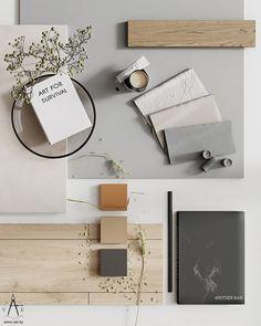 Mood Board Interior, Interior Design Boards, Moodboard Interior Design, Material Board, Mood And Tone, Concept Board, Mood Boards, Interior Architecture, Decoration