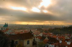Prague Skyline Old Town