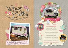 A blast from the past! some shots of 'Dotty' our first #vintage #caravan #conversion for the #streetfood world!