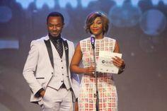 OC Ukeje and Genevieve Nnaji at the Africa Magic Viewers Choice Awards #AMVCA 2014 #Nollywood #Naija #Nigeria #Awards #Genevieve #HalfOfAYellowSun