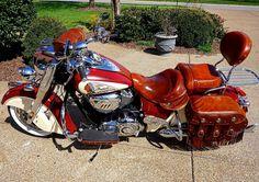 Indian Vintage custom leather'