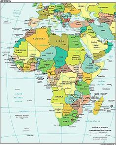 Various maps of africa use with my fathers world exploring alphabetical list of all african countries with capitals gumiabroncs Image collections