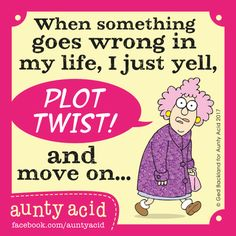 Aunty Acid by Ged Backland for Aug 20, 2017 | Read Comic Strips at GoComics.com
