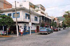 Streets of Puerto Vallarta, Mexico