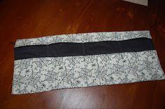 Knit needles case