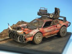Ferrari Mad Max 1/24 Scale Model
