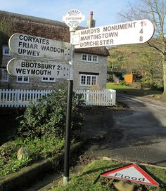 Portesham Finger Post Dorset by Bridgemarker Tim on Flickr