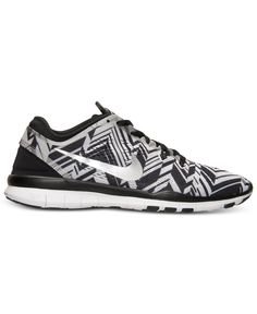 Nike Women's Free 5.0 TR Fit 5 Print Training Sneakers from Finish Line - Finish Line Athletic Shoes - Shoes - Macy's