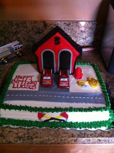 Firehouse Cake by @Marisa Russo