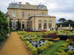 Historical Romance and the English Country Home, via Anna Bradley at The Beau Monde. Wrest Park, Bedfordshire, England