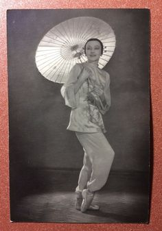 "Vintage soviet photo postcard 1955 Russian ballet ""Red Poppy"" ULANOVA Tao Hoa | eBay"