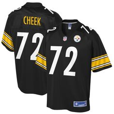 c0b4933ed Joseph Cheek Pittsburgh Steelers NFL Pro Line Player Jersey – Black