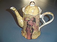Heritage By Jay Teapot Unique Lady W/microphone