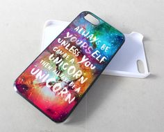 Unicorn Quote In Galaxy Nebula iPhone Case And Samsung Galaxy Case #accessories #phonecase #iphonecase #case #cover #hardcase #hardcover #skin #iphone4 #iphone4case #iphone4s #iphone4scase #iphone5 #iphone5case #iphone5c #iphone5ccase #iphone5s #iphone5scase #custom  #rubbercase #quote