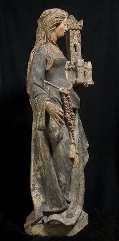 Saint Barbara. Date: ca. 1500. Culture: North French
