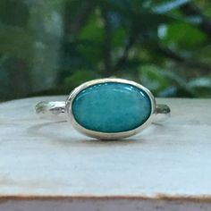 Turquoise ring Gemstone Rings, Turquoise, Jewellery, Gemstones, Jewels, Gems, Green Turquoise, Schmuck, Minerals