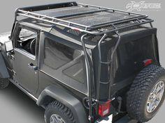 Gobi Racks® Stealth Roof Rack System for 07-14 Jeep® Wrangler JK 2-Door