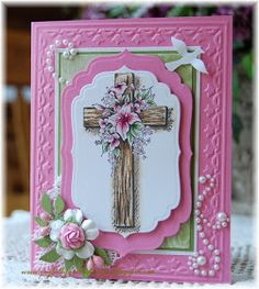 Easter Religious Clipart – Picture Ideas – Arts And Crafts – All DIY Projects Confirmation Cards, Easter Arts And Crafts, Scrapbook Cards, Scrapbooking, Easter Religious, Christian Cards, Sympathy Cards, Paper Cards, Homemade Cards