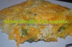 Broccoli and Rice Casserole www.tamonastips.com