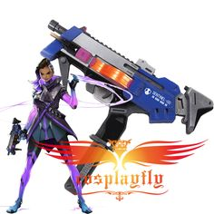 Overwatch OW Reaper Shotguns Cosplay Prop PVC Gun Collections Comic Weapon Gift