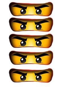 Ninjago Party Free Printables- Print these out for balloons or favor boxes., Ninjago Party Free Printables- Print these out for balloons or favor boxes. Ninjago Party Free Printables- Print these out for balloons or favor boxes. Lego Ninjago Cake, Ninjago Party, Ninjago Valentines, Bolo Lego, Ninja Birthday Parties, 5th Birthday, Ninja Birthday Cake, Karate Birthday, Birthday Ideas