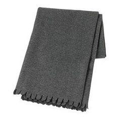 IKEA - POLARVIDE, Throw, , The fleece throw feels soft against your skin and can be machine washed.