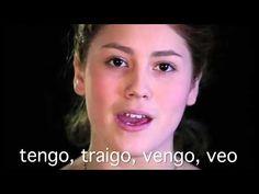 Irregular Spanish Verb songs: Present Tense - YouTube