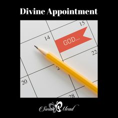 Divine appointment. Have you found the intersection of Interrupt & Meet ME face to face? Be inspired! It's where God shows off best in your life.
