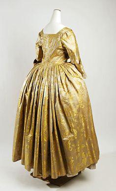 Second half 18th century, American Silk, MET
