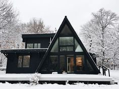 Image result for snowy decorative home made buildings for