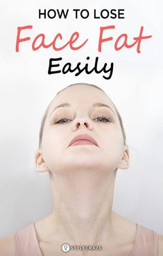 How To Lose Face Fat Easily:Technically,it is not impossible to lose fat from a single part of the body. But if you incorporate a few practical tips in your everiday life, you'll be able to get a slimmer face easily.No painful diets, hours on the treadmilI, or tedious face exercises needed. Visit our website and find out how to lose face fat easily and fast #wheightloss #fitness #fat Reduce Face Fat, Lose Weight In Your Face, Lose Fat, Lose Belly Fat, Cheek Fat, Facial Yoga, Facial Massage, Face Exercises, Posture Exercises