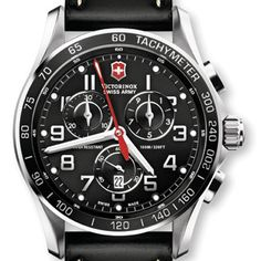 Victorinox Swiss Army® 'Chrono Classic XLS' Stainless Steel Bracelet Watch, available at Fine Watches, Cool Watches, Watches For Men, Men's Watches, Jewelry Watches, Luxury Watches, Retro Watches, Stylish Watches, Wrist Watches