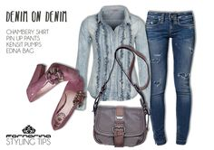 #Fornarina Style Tips - Denim on denim - fw 13