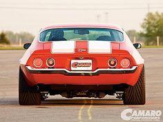 SD8354 1970 Chevrolet Camaro Z28 Stripes Muscle Car 24x18 Print POSTER