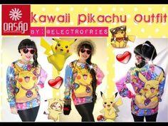 Pikachu Kawaii Outfit: かわいいピカチュウ衣 Sweatshirt: http://www.oasap.com/sweatshirts-hoodies/50187-brightly-multicolor-cartoon-animal-print-sweatshirt.html/?fuid=137840 Price:$24.36 Hat: http://www.oasap.com/hats/50034-multifunctional-faux-rabbit-fur-edge-hat.html/?fuid=137840 Price:$11.76 Gloves: http://www.oasap.com/gloves/33992-heart-graphic-knitted-gloves.html/?fuid=137840 Price:$3.90