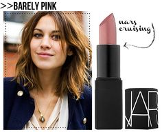Barely Pink. Great neutral look if your lips tend to be washed out by more nude colors.