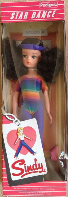 Sindy Star Dance Doll 1984 by Pedigree Boxed | 48+3.5