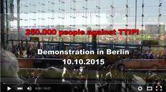 250,000 Germans Rally Against European TTIP | Portside