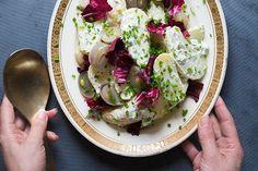 Potato and roast shallot salad – Recipes – Bite
