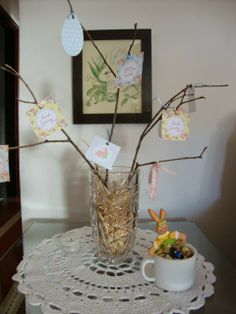 Our Easter Tree