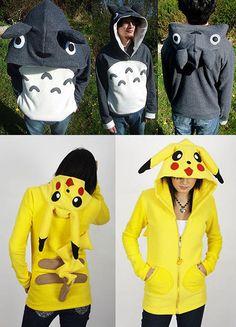 Omigosh Totoro hoodie!!