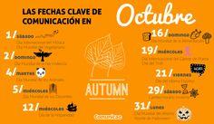 #Infografia de Octubre imprescindible para el #marketing