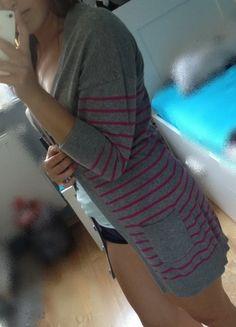Kup mój przedmiot na #vintedpl http://www.vinted.pl/damska-odziez/dlugie-swetry/10141073-dlugi-szary-sweterek-w-paski-house
