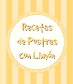 Cupcake Creativo: 5 Recetas de Postres con Limón!!