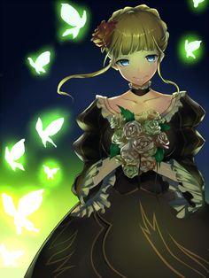 Tags: Anime, Umineko no Naku Koro ni, Bouquet, Beatrice, Mu-nyako #Ronce  #ContesDefaits