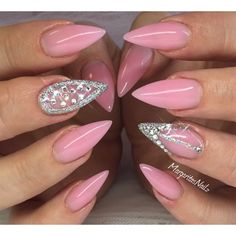 Pink Stilettos  by MargaritasNailz from Nail Art Gallery
