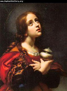 Carlo Dolci, Magdalene, 1660-70.  Galleria degli Uffizi, Florence