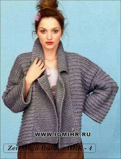 Modelo em tricot
